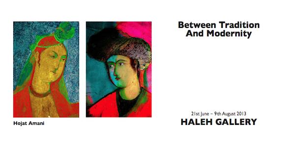 Hojat Amani by Haleh gallery